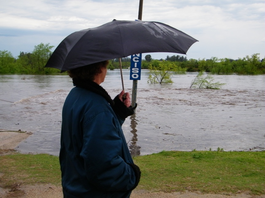 Tormentas, lluvias ydesbordes