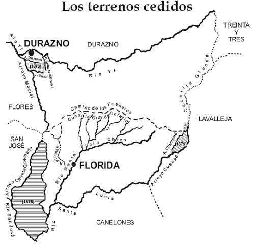 mapa terrenos