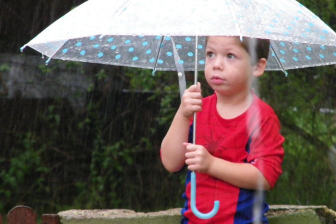 Ola de calor y despedida con lluvias
