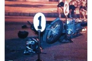 Los accidentes en motos son constantes en Florida. Foto: archivo FD.
