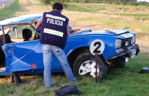 Policía Técnica trabajó en los casos. Foto: Archivo FD.