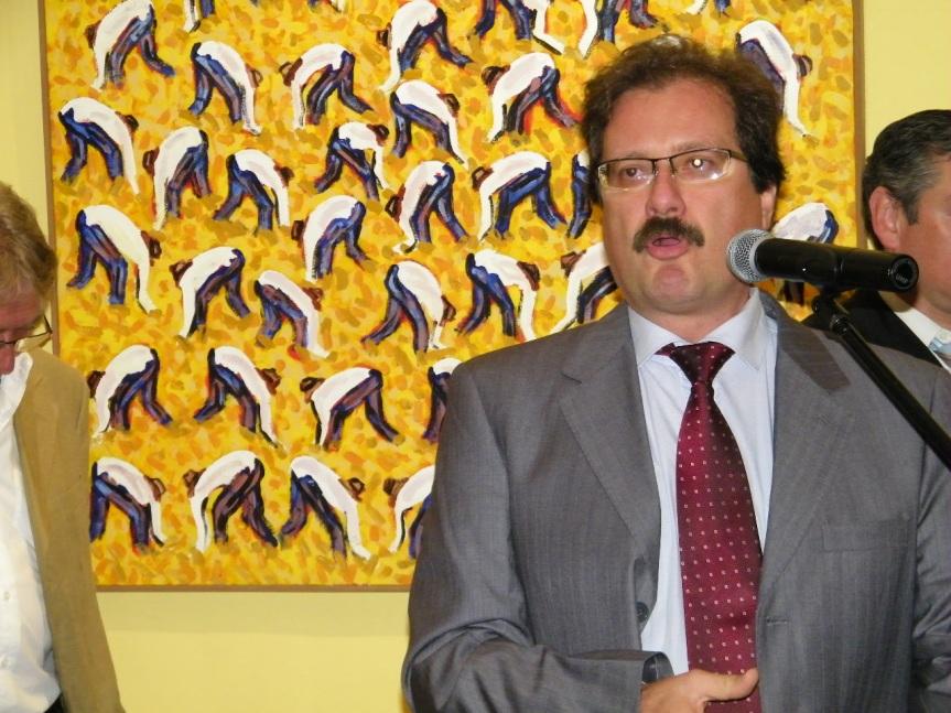 Álvaro Riva, en su cargo de director de Cultura. Foto: Archivo FD.