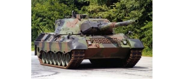 Tanque M-14, una de las unidades que tiene el mecanizado que se instalará en Florida.