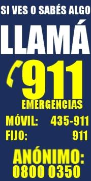 AVISO 911