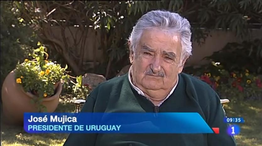 Mujica sorprendió en Europa: mirá laentrevista