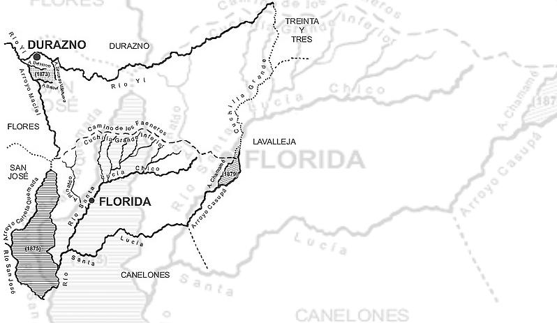 Florida: Departamento, Jefatura, Intendencia yEscudo