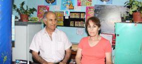 Los vendedores de varios premios en Salto. Foto: diario El Pueblo.
