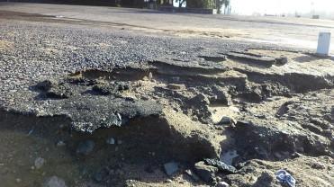 golpe de destrozo y mugre en rambla y ciclovía (11)