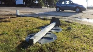 golpe de destrozo y mugre en rambla y ciclovía (3)
