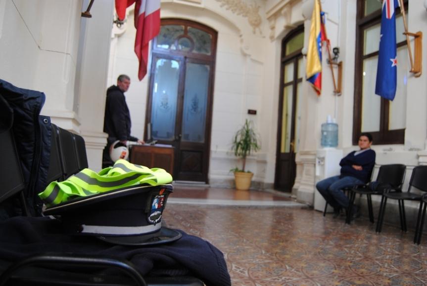 Intendencia abrió llamado para 8 inspectores detránsito