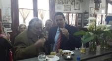Mujica en el Negro el 8. Foto: Mauricio Sanner vía Twitter