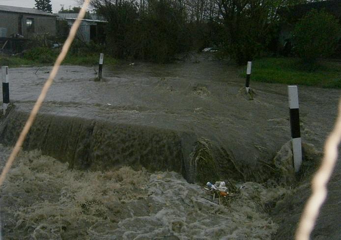 Fuertes lluvias en Florida: una máxima nacional de 75milímetros