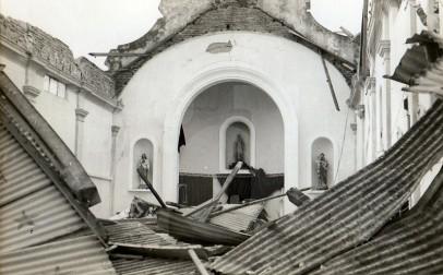 Foto día después tornado en Fray Marcos. Gentileza Dr. Eduardo Tapié
