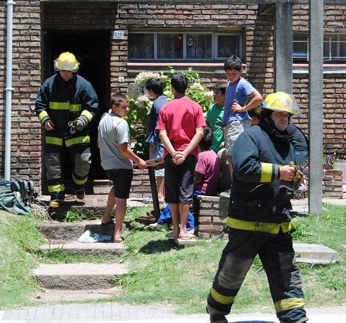 Del frío al calor: se incendió heladera en apartamento de FaustinoLópez