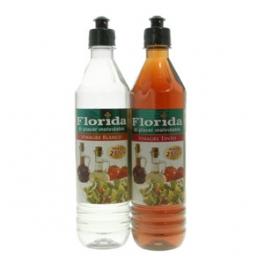Vinagre, Florida Pack (Tinto+Bnaco) Botella plastica x 625 cada uno