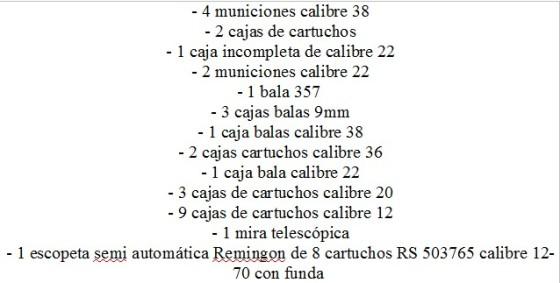 lista armas 7