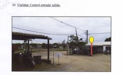 vialidad control entrada y salidad