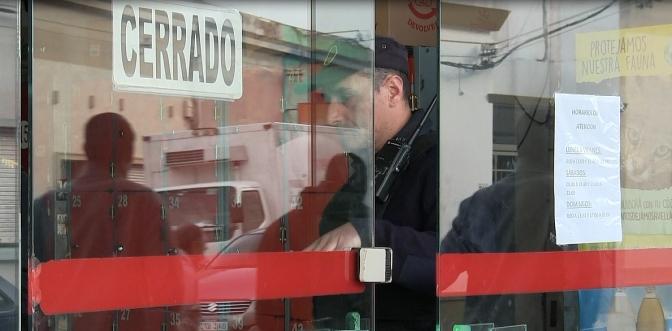 Policía investiga robo en supermercado San Cono
