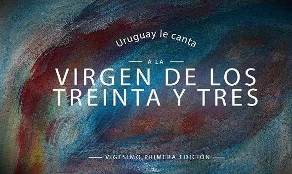 Virgen de los Treinta y Tres recibe el canto delUruguay
