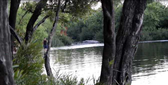 Murió niña ahogada en río Santa Lucía Chico
