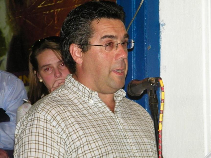 12 de febrero de 2009. Arocena promete seguir el trillo que dejó su padre. Foto: Archivo FD