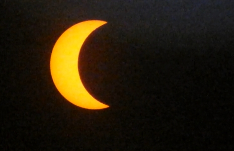 Así se vio el eclipse desdeFlorida