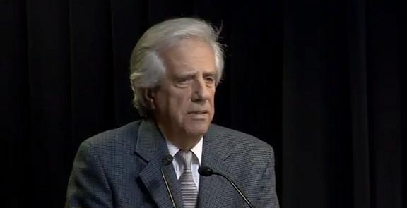 """Vázquez: """"Valentía"""" de Sendic, """"halago"""" para Topolansky y descarte de """"crisis institucional"""""""