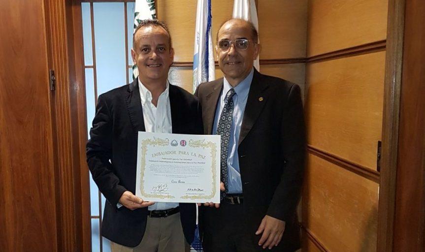 Cono Arrúa es Embajador para laPaz