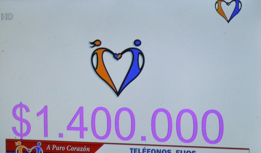 #Teleradiomaraton: Florida donó $ 1.400.000 al centro Dr. JacoboZibil