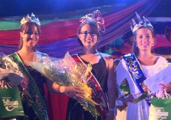 Valentina reina en el Carnaval deFlorida