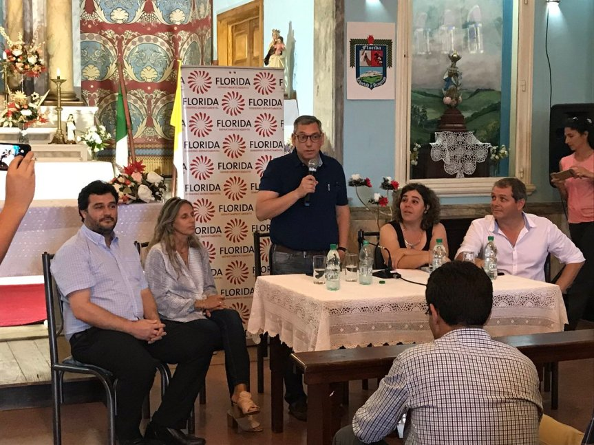 Oremos: intendencia realizó cabildo de vecinos en capilla de SanCono