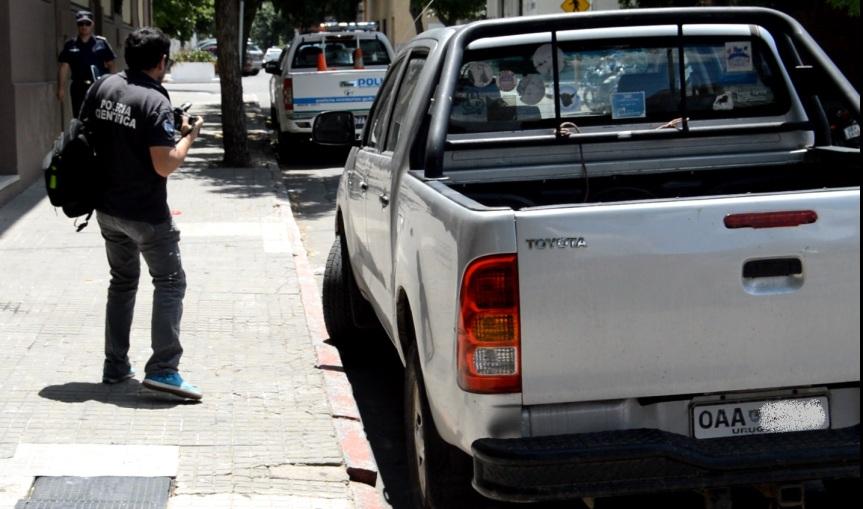 Policía frustró robo de camioneta arematador