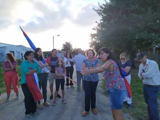 Recorrida: Lorier visitó a varios vecinos en 25 de Agosto