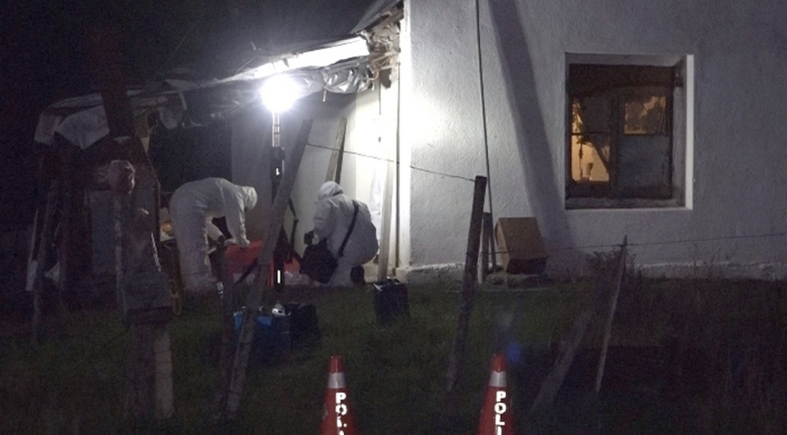 Robo violento: hombre herido en casa de ruta5