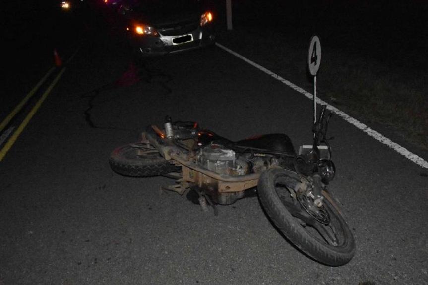 Fatal en Casupá: joven murió en siniestro en ruta7
