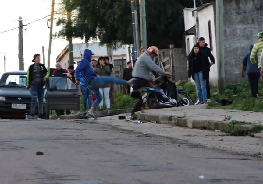 Condenaron a implicados por disturbios enBurastero