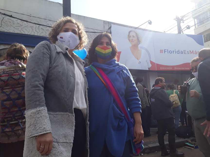 "Mariana largó ""cruzada"" frente a la intendencia ""agencia de empleo de la62"""