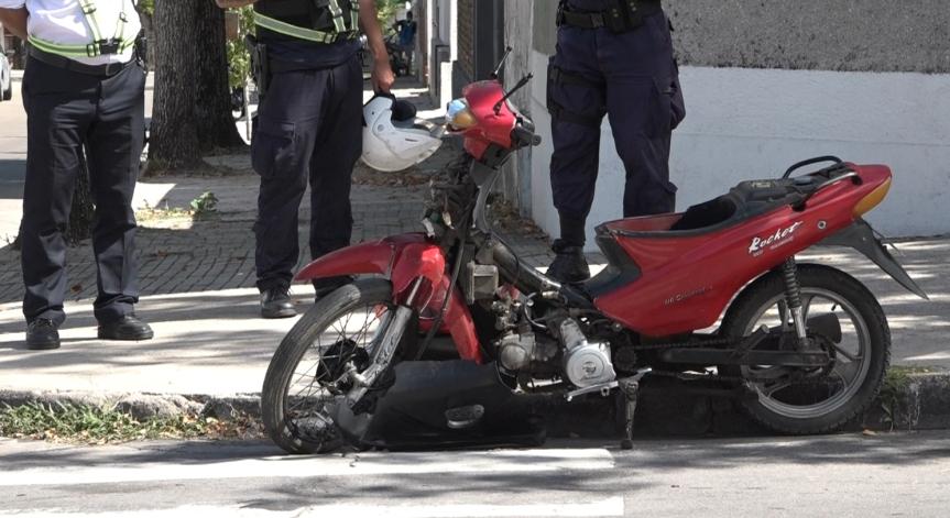 Cayó en moto, lo levantaron y estaba ebrio: atrabajar