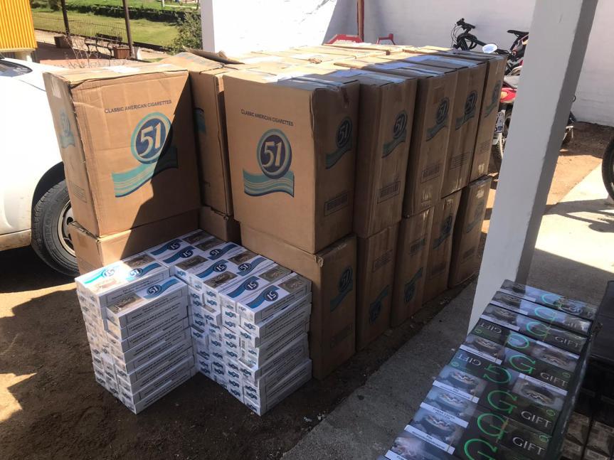 Otro importante cargamento de contrabando cayó enCasupá