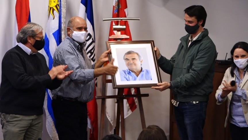"Junta de Florida ""no aflojó"": homenaje a JorgeLarrañaga"